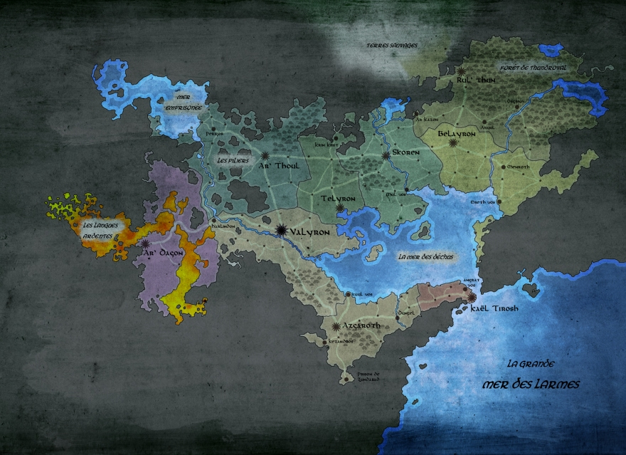 UNDERWORLD ELVES MAP