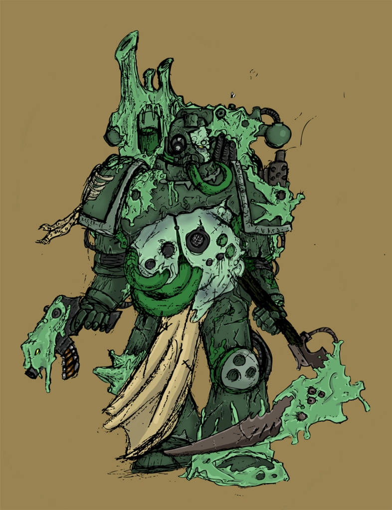 Death Guard Marine (2012)
